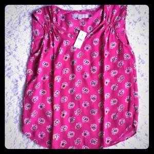 NWT Loft sleeveless blouse